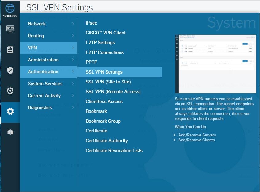 SSL VPN on Sophos XG - The Doc's World